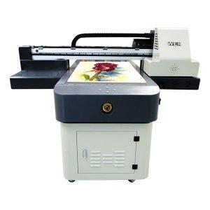 Горячая распродажа a1 / a2 / a3 / a4 небольшой формат цифровой уф-планшетный принтер 6090