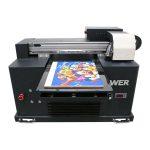 дешевый цена формата а4 уф светодиодный планшетный принтер для любого материала