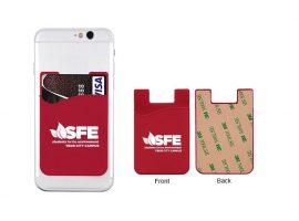 Адгезивные кошельки для сотовых телефонов