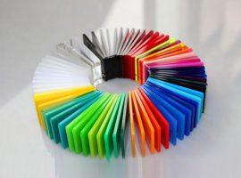 Цветное плексиглас