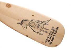 Деревянные весла